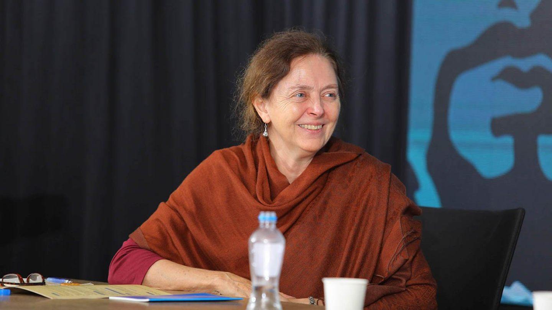 Natalia Shukooy in Ma'din Academy Ibn Batuta Conference